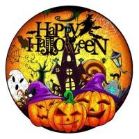 Halloween rund