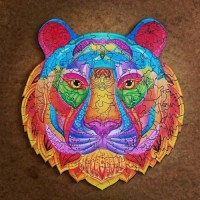 Holzpuzzle Tiger